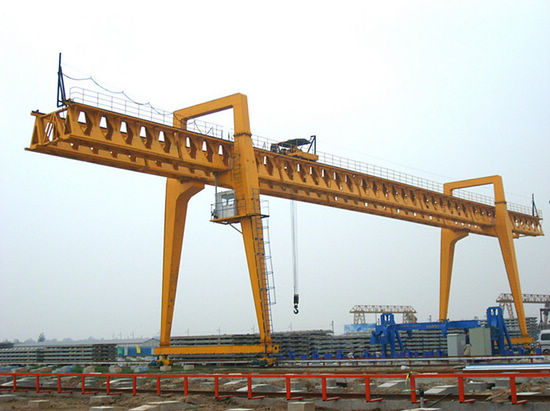Overhead Crane Girder Deflection : Installation step of gantry crane